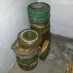 inert antitank mines